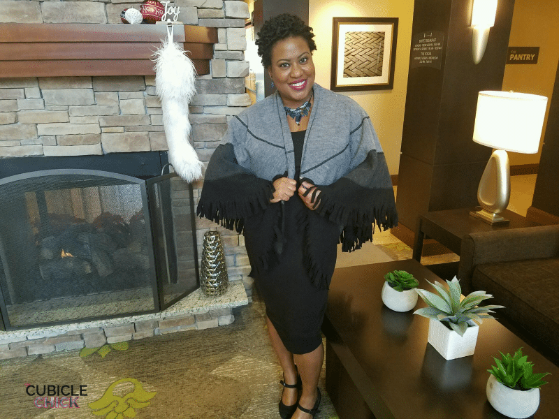 Wool Capelet from Chadwicks of Boston