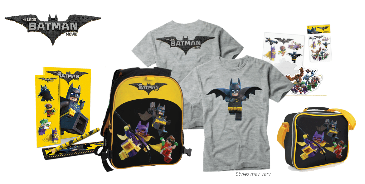 Learn more about The LEGO BATMAN MOVIE, and enter to win a valued at $75.00, and enter to win a LEGO BATMAN MOVIE gift pack valued at $65.00.
