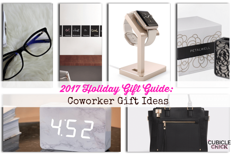 In the first edition of my 2017 Holiday Gift Guide, I am sharing some great coworker gift ideas that'll make your colleagues squeal in delight.