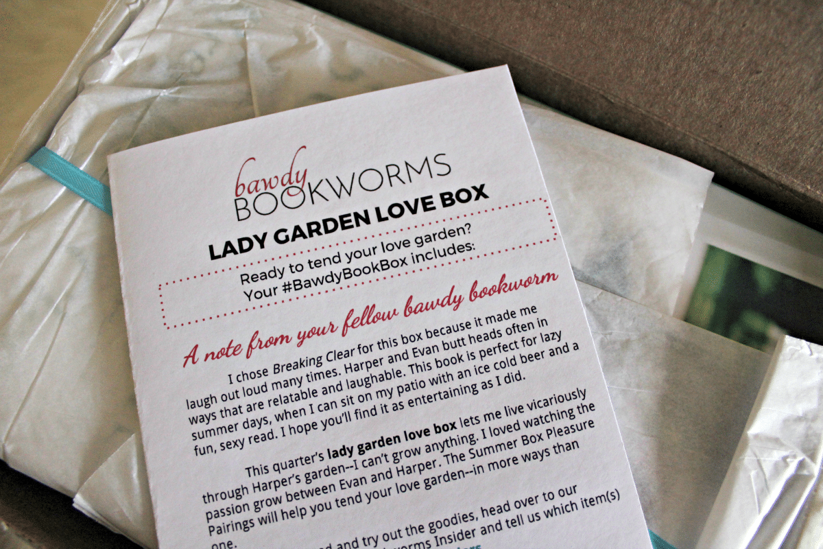 Bestie Gift Idea: Bawdy Bookworms Subscription Box