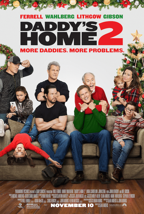 How does Daddy's Home 2 stand up next to other Christmas themed films and timeless classics? Read my review and see for yourself.