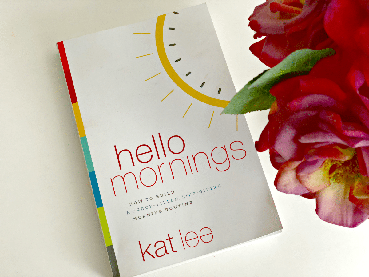 If you are looking for a book that can help you reclaim your mornings, Hello Mornings is it! Learn how to create a positive morning routine.