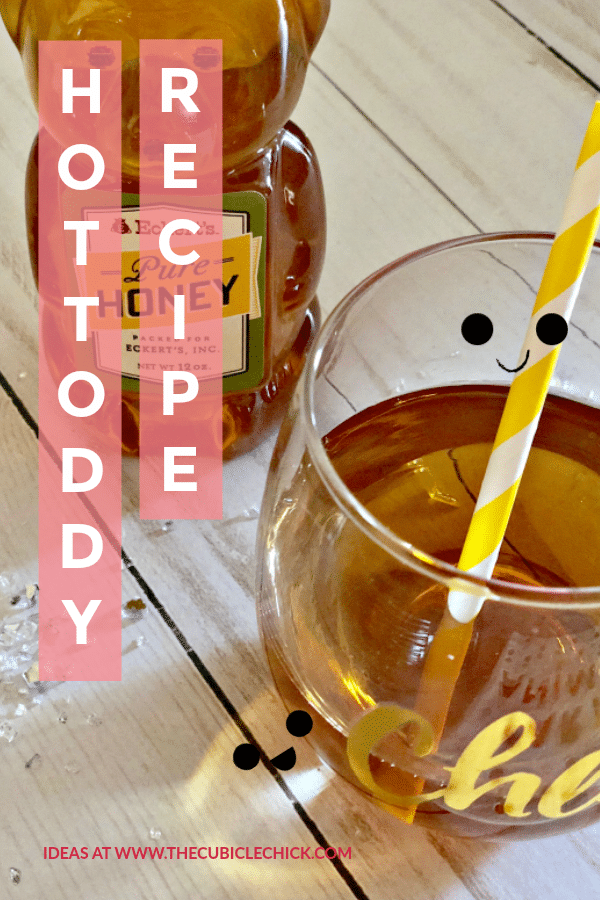 Cue my Homemade Happy Hour Hot Toddy Recipe featuring Pepper Honey Hot Vodka from Khor
