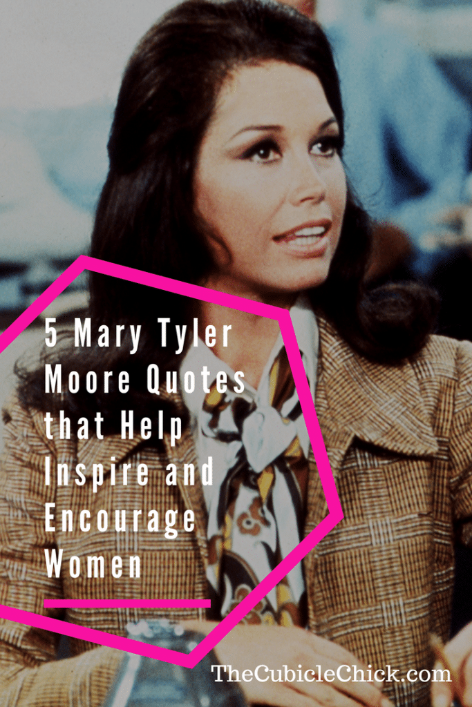 Get a huge dose of girl power with these 5 Mary Tyler Moore quotes that help inspire and encourage women. Share with your sisterhood for maximum effect.