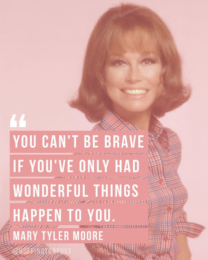 Get a huge dose of girl power with these 10 Mary Tyler Moore quotes that help inspire and encourage women.