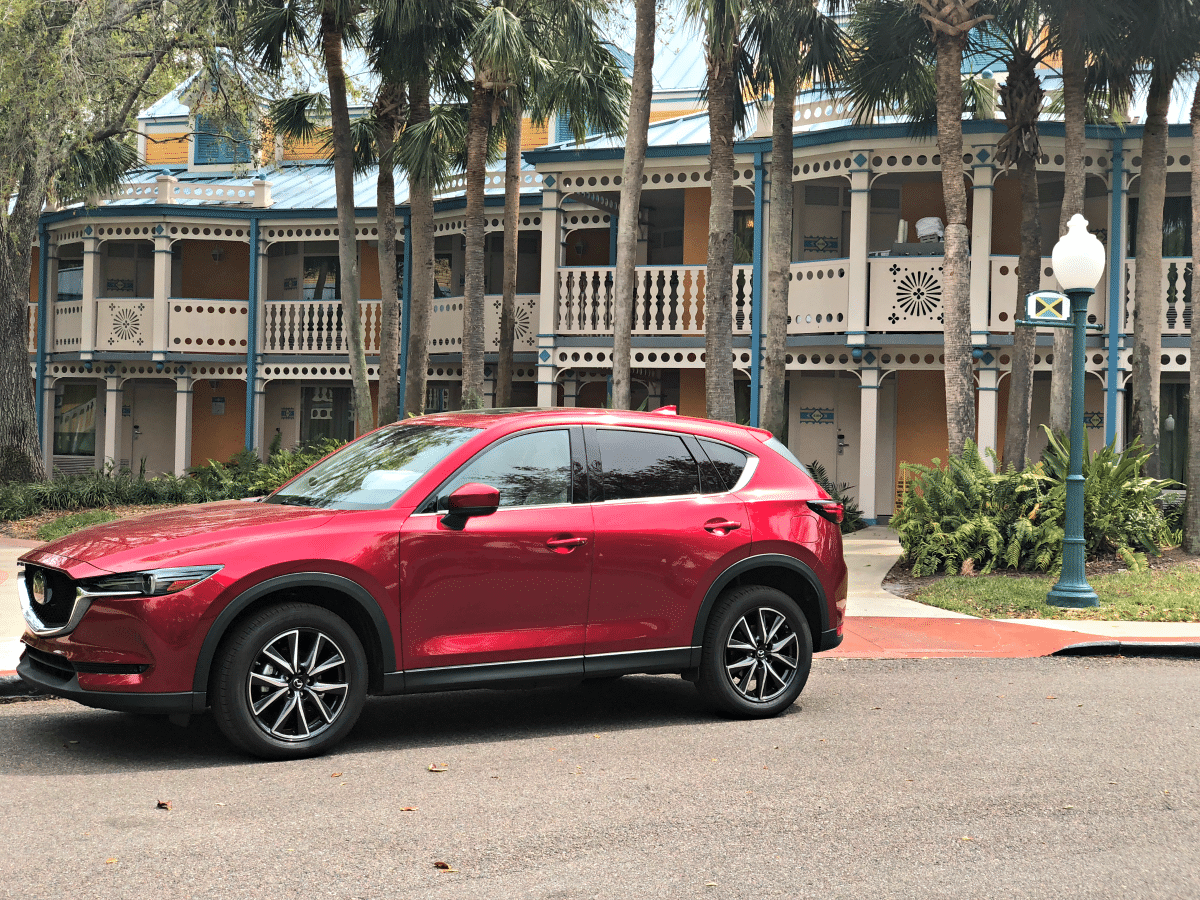 Walt Disney World is even better when you can navigate it in a versatile vehicle like the 2018 Mazda CX-5 Grand Touring. Read why!