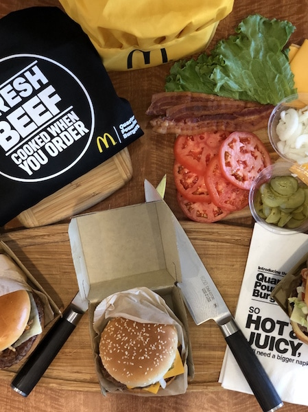 Learn about McDonald's new 100% Fresh Beef Quarter Pounder burgers and enter to win one of three McDonald's gift cards worth $20 each.