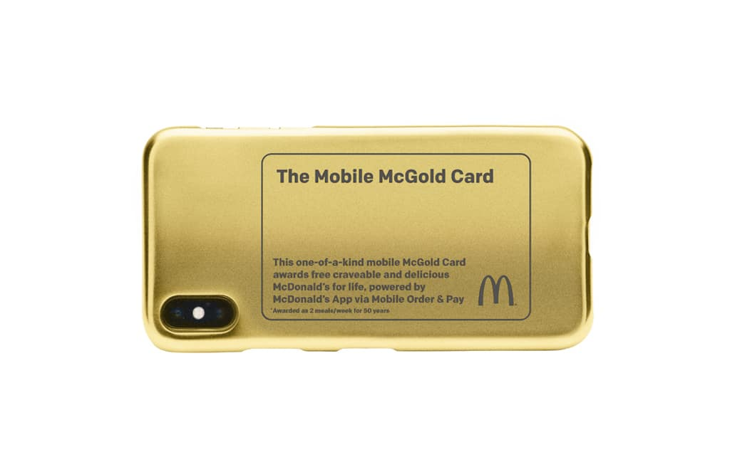 Did you know that you can win McDonald's for life with the McGold card? Get to know McDonald's Mobile Order and Pay and win big!