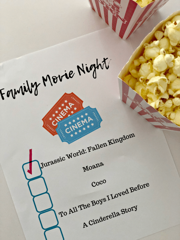 Do you want to plan a family movie night with your teen? I'm sharing my tried and true tips on how to make your movie night a success.