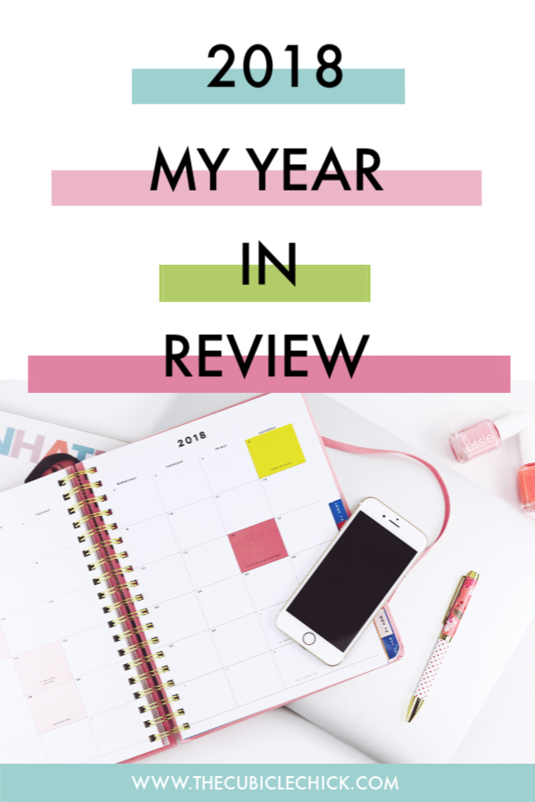 Bittersweet is the best way to describe my year, and as I head into 2019, I am sharing the good, the bad, and the ugly that has been 2018.