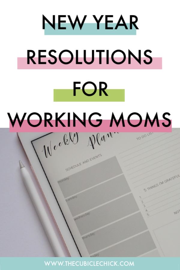 A New Year is upon us! In order to have the best one yet, I am sharing 7 New Year resolutions for working moms that'll have you rocking it out.