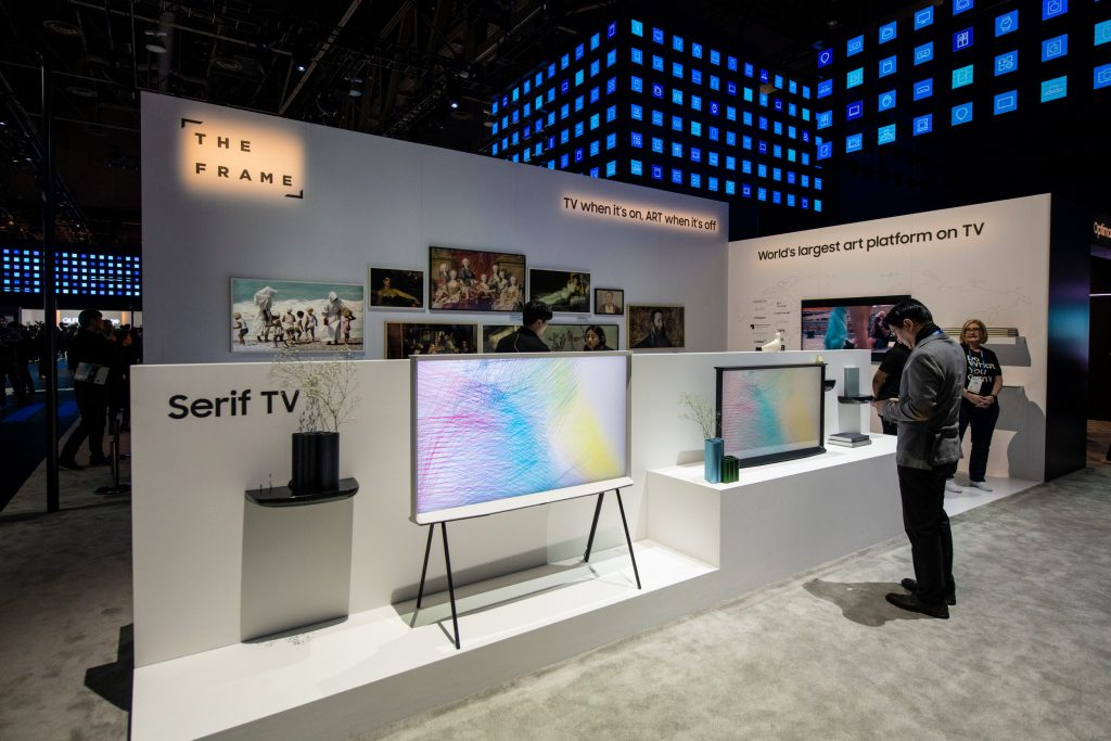 If you were wondering what it is like to visit Samsung at CES 2019, I've got a rundown for you of what you need to know. Let's go!