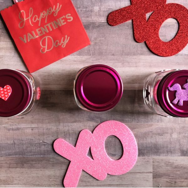 DIY Valentine Mason Jar Decor for Your Home