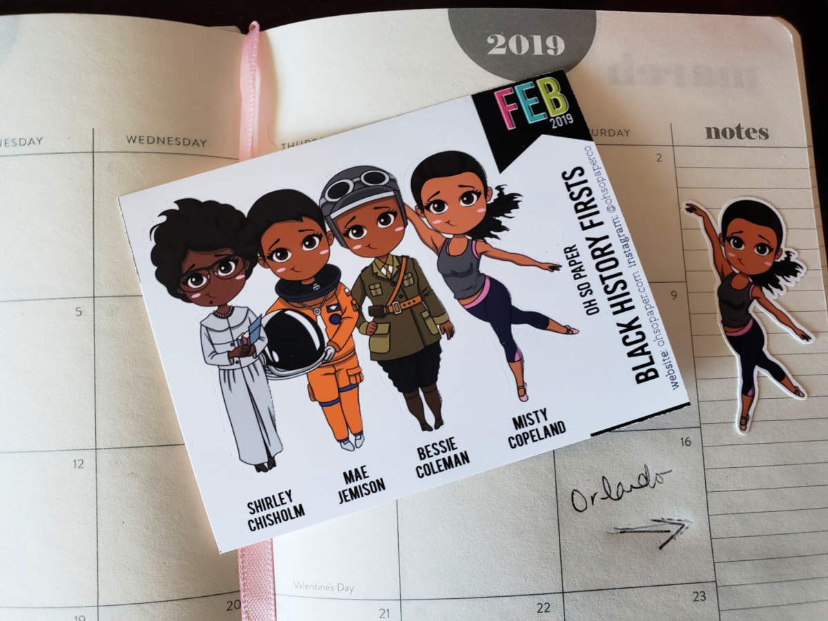 These Oh So Paper Black History Firsts Limited Edition Stickers are just what the world needs to help celebrate and appreciate Black History Month.