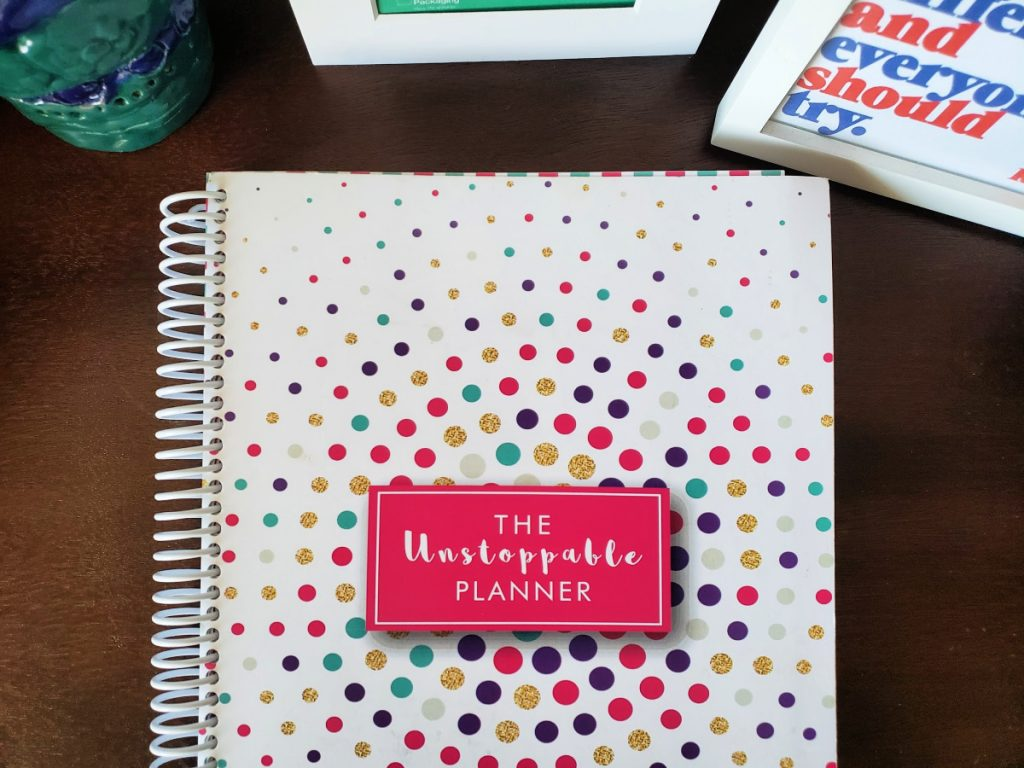 If you are a looking for a tool that inspires you, encourages you, and helps keep you organized, check out my review of The Unstoppable Planner.