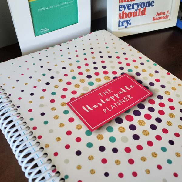 Get Inspired To Reach Your Goals with The Unstoppable Planner