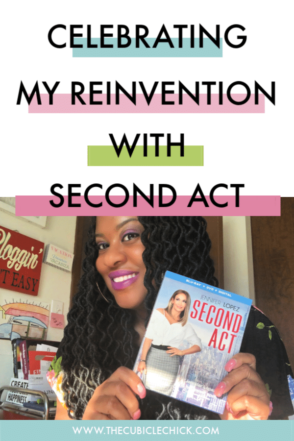 Second Act is now available on DVD, Blu-Ray, and Digital Download. Jennifer Lopez isn't the only one experiencing her second act---I am too.