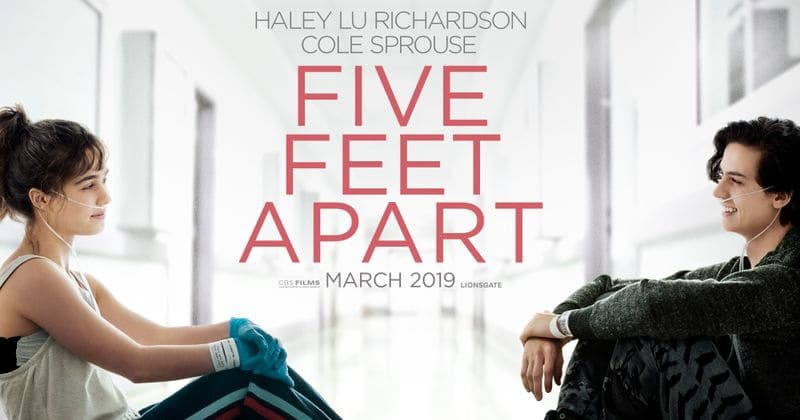 You are invited to a free screening of Five Feet Apart, taking place on Wed., March 6th at Marcus Des Peres. Register to get your passes here!