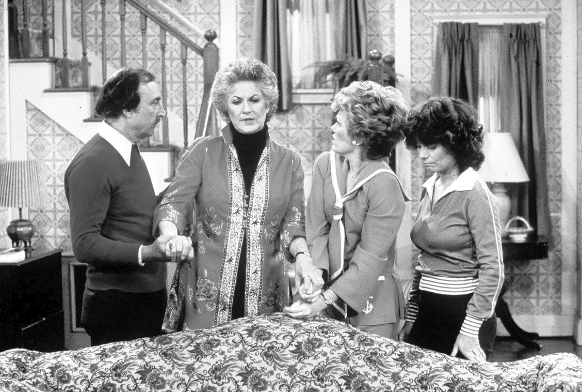 The 1970's Norman Lear produced series Maude was a study of women's rights, racism, classism, mental health and more. It is still must-see TV.