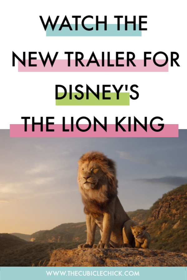 It's almost time! The new trailer for The Lion King is here and I am all types of excited. Read why this remake is one my family will cherish.