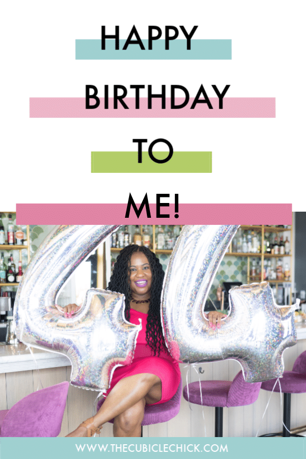 Another year, another blessing. I am officially turning 44, and I am sharing a few of the goals I have set for this milestone year.