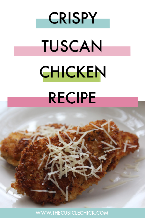 This recipe for Crispy Tuscan Chicken is perfect for busy working mamas who are looking to serve something that the entire family will love.