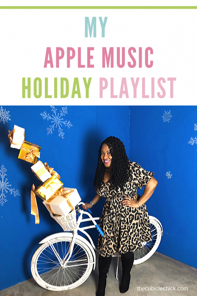It's beginning to sound a lot like Christmas! Turn the volume up and partake in my Apple Music Holiday Playlist that you can listen to at work and play.
