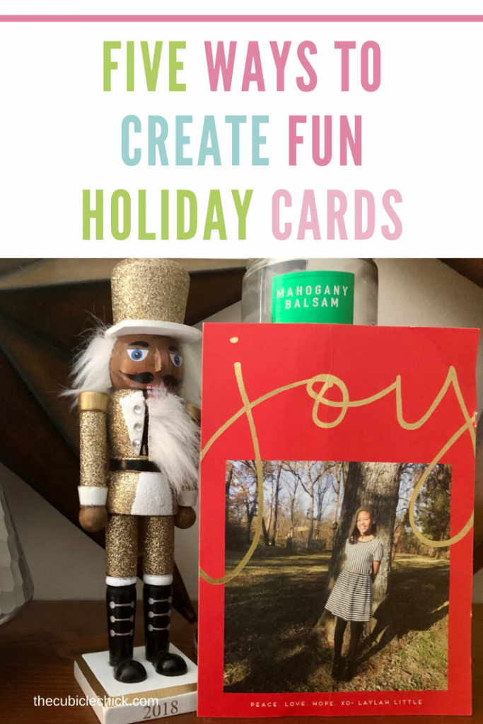 Five Ways To Create Memorable Personalized Holiday Cards