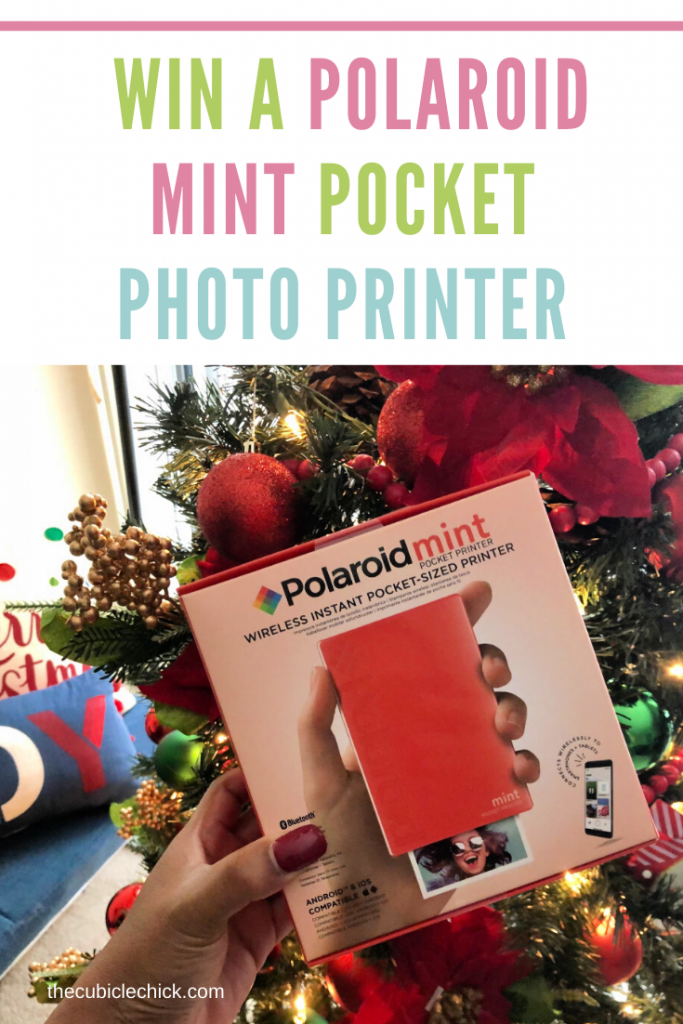 Enter to win a Polaroid Mint Pocket Photo Printer and learn about this amazing gadget that is perfect for working moms who want to preserve memories.