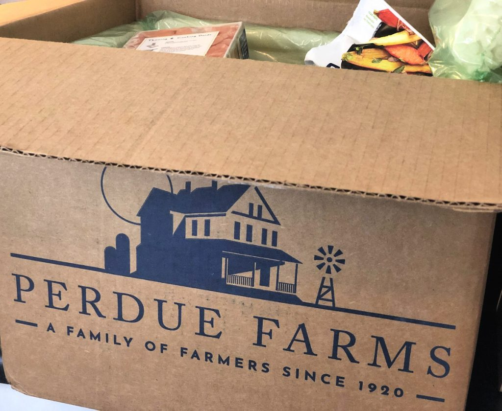Learn how convenient and time-saving the Perdue Farms Organic Bundle box is, and how to make my crowd-pleasing Parmesan Crusted Chicken recipe.