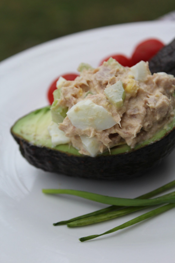 If you are looking for a quick and healthy lunch, check out my Protein Packed Tuna Avocado Cups Recipe. Takes 15 minutes or less to make!