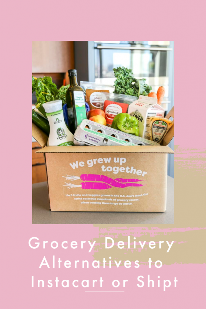 Pinterest photo of boxed groceries