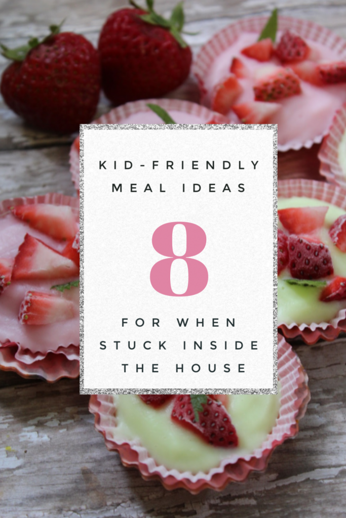 If you are looking for kid friendly meal ideas during this time of self-containment and self-isolation, you've come to the right place!