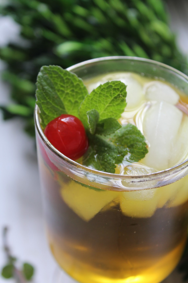 Sweet Southern Mint Julep Cocktail