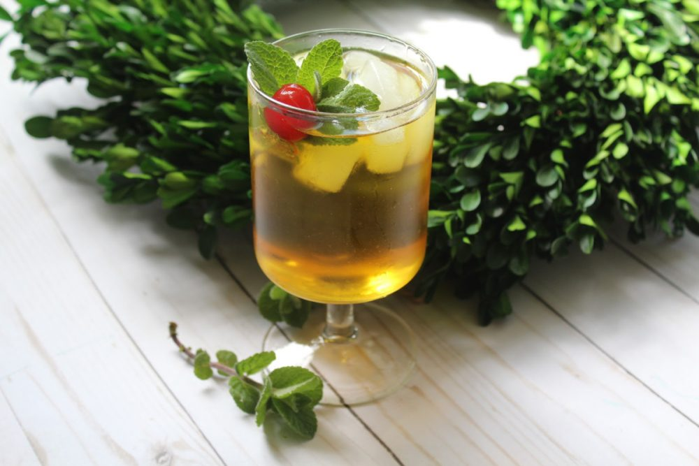Just because the Kentucky Derby is on pause doesn't mean that you have to be! This sweet Southern Mint Julep cocktail recipe is a much-needed treat.