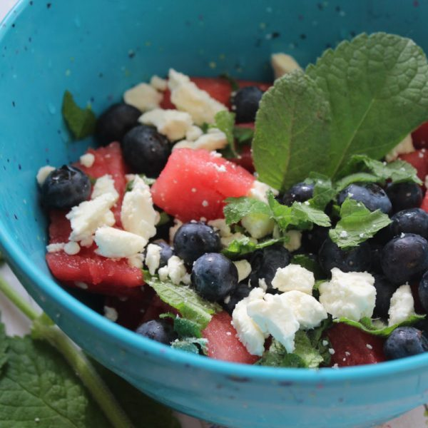 Celebrate Spring and Summer with a Watermelon Feta Salad