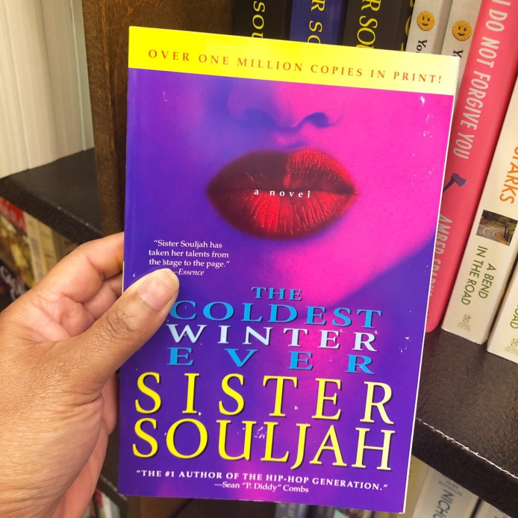 For my first Mama Reads Book Club selection for June, it's time to revisit the urban classic that is The Coldest Winter Ever by Sister Souljah.