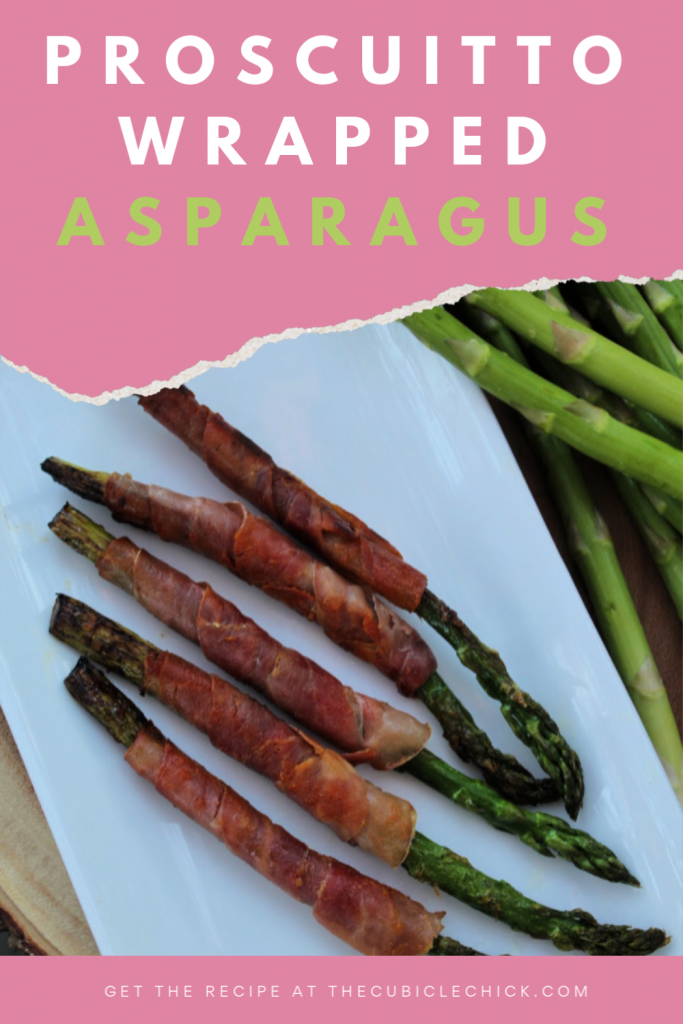 This Prosciutto Wrapped Asparagus recipe is super easy to make and is a yummy and flavorful addition to any meal. Learn how to make it!