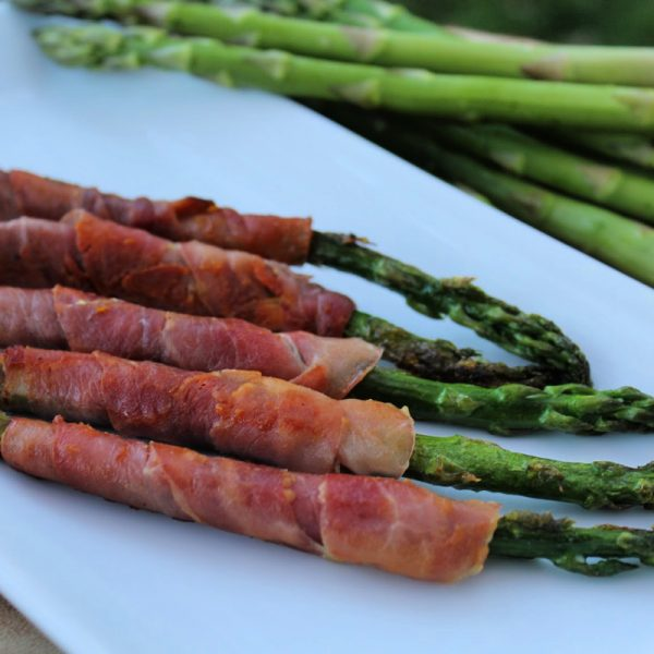 Side Dish: Prosciutto Wrapped Asparagus