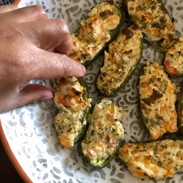 Stuffed Jalapeño Peppers Recipe Using a Grill