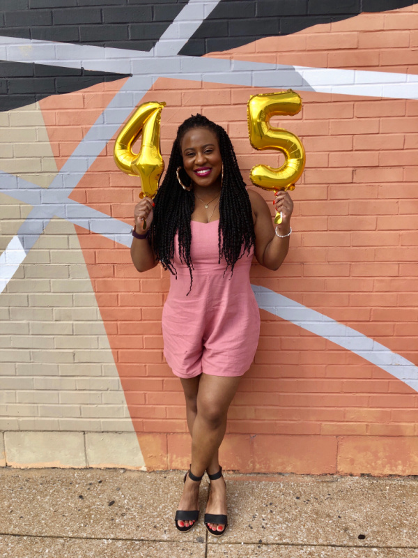 I'm officially 45 years young, and I got a lot that I want to accomplish. Read about what I want to do this year. Goals!