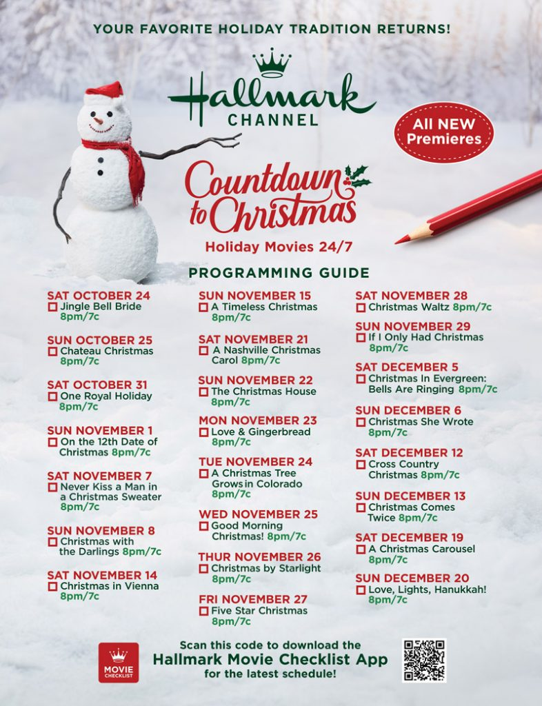 Oh yeah! The most wonderful time of the year has arrived! It's time to get excited about Hallmark's Countdown to Christmas.