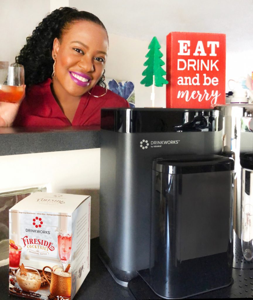 This year, make it a festive and memorable Holiday Homemade Happy Hour with fabulous cocktails with the Drinkworks Home Bar by Keurig.