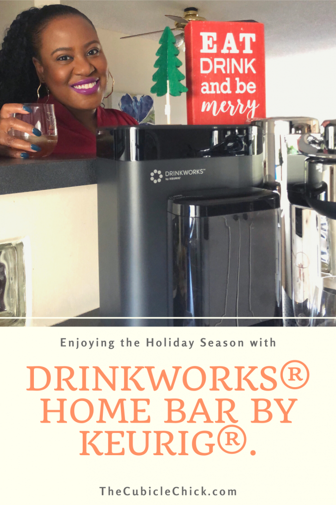 This year, make it a festive and memorable Holiday Homemade Happy Hour with fabulous cocktails from the Drinkworks® Home Bar by Keurig®. #AD Content for 21+. Please enjoy responsibly. #Drinkworks_Partner