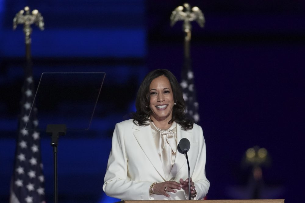 There will be a woman serving in The White House! Vice President Elect Kamala Harris has shattered the glass ceiling.