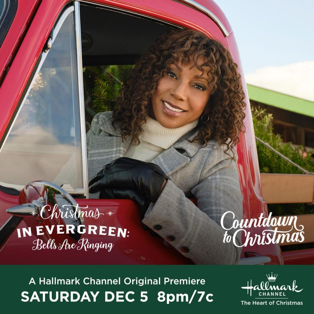 Get ready for more Countdown to Christmas with Christmas In Evergreen: Bells Are Ringing on Hallmark Channel. Win prizes!